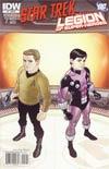 Star Trek Legion Of Super-Heroes #2 Incentive Gabriel Rodriguez Variant Cover