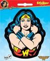 Wonder Woman Arms Crossed Die-Cut Sticker (45156S)