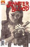 Garth Ennis Jennifer Blood #7 Incentive Tim Bradstreet Sketch Cover