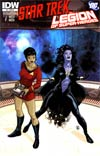 Star Trek Legion Of Super-Heroes #3 Incentive Mario Alberti Variant Cover