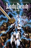 Lady Death Vol 3 #10 Virgina Comicon Cover