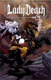 Lady Death Vol 3 #15 Regular Richard Ortiz Cover
