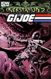 Infestation 2 GI Joe #2 Regular Valentine De Landro Cover