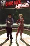 Star Trek Legion Of Super-Heroes #4 Incentive Mario Alberti Variant Cover