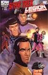 Star Trek Legion Of Super-Heroes #4 Regular Chris Sprouse Cover