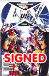 Avengers vs X-Men #1 Cover Q DF Signed By John Romita Sr