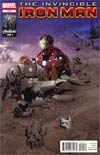Invincible Iron Man #515 Regular Salvador Larroca Cover