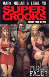Supercrooks #2 Regular Leinil Francis Yu Cover