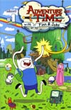 Adventure Time #1 Incentive Chris Houghton Wraparound Cover