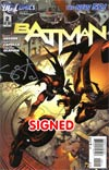 Batman Vol 2 #2 Regular Greg Capullo Cover Signed By Scott Snyder