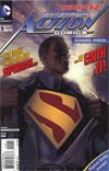 Action Comics Vol 2 #9 Cover B Combo Pack With Polybag