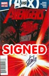 Avengers Vol 4 #25 Cover D DF Signed By Stan Lee