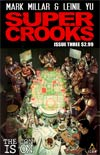 Supercrooks #3 Regular Leinil Francis Yu Cover