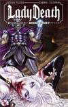 Lady Death Origins Cursed #2 Wraparound Cover