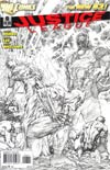 Justice League Vol 2 #6 Incentive Jim Lee Sketch Cover
