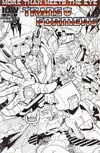 Transformers More Than Meets The Eye #3 Incentive Alex Milne Sketch Cover