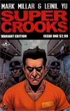 Supercrooks #1 Incentive Dave Gibbons Variant Cover