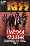 KISS Vol 2 #1 1st Ptg Regular Cover (Filled Randomly With 1 Of 2 Covers)