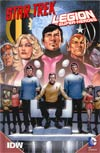 Star Trek Legion Of Super-Heroes HC Book Market Edition