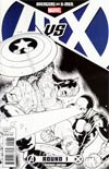 Avengers vs X-Men #1 Cover H Incentive Ryan Stegman Sketch Cover