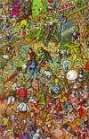 Fanboys vs Zombies #1 Cover E Incentive Ulises Farinas Virgin Wraparound