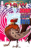 Chew Secret Agent Poyo #1 1st Ptg Regular Rob Guillory Cover