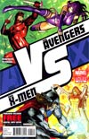 AVX VS #4 Regular Brandon Peterson Cover (Avengers vs X-Men Tie-In)