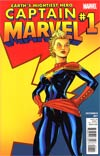 Captain Marvel Vol 6 #1 1st Ptg Regular Ed McGuinness Cover