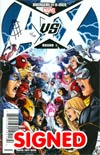 Avengers vs X-Men #1 DF Signed By Jim Cheung