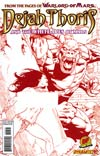 Dejah Thoris And The White Apes Of Mars #4 DF Exclusive Sean Chen Risque Red Cover