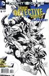Detective Comics Vol 2 #9 Incentive Tony S Daniel Sketch Cover (Night Of The Owls Tie-In)