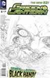Green Lantern Vol 5 #9 Incentive Doug Mahnke Sketch Cover