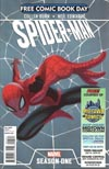 FCBD 2012 Spider-Man Season One Variant Midtown Comics Customized Cover