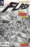Flash Vol 4 #9 Incentive Francis Manapul Sketch Cover