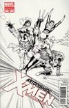 Astonishing X-Men Vol 3 #50 Incentive John Cassaday Sketch Cover