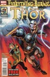 Mighty Thor #18 Regular Alan Davis Cover (Everything Burns Prologue)