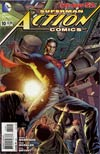 Action Comics Vol 2 #10 Cover D Variant Bryan Hitch Cover