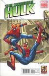Incredible Hulk Vol 4 #9 Incentive Amazing Spider-Man In Motion Variant Cover
