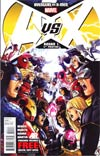 Avengers vs X-Men #1 Cover L 4th Ptg Jim Cheung Variant Cover