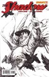 Shadow Vol 5 #3 Incentive Stephen Segovia Black & White Cover