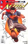 Action Comics Vol 2 #0 Regular Ben Oliver Cover