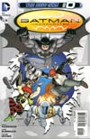 Batman Incorporated Vol 2 #0 Regular Chris Burnham Cover