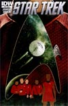Star Trek (IDW) #13 Regular Tim Bradstreet Cover
