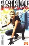 Jennifer Blood First Blood #1 Regular Mike Mayhew Cover