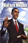 Barack Obama Comic Book Biography HC New Edition
