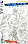 Justice League Vol 2 #10 Incentive Jim Lee Sketch Cover