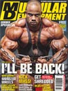 Muscular Development Magazine Vol 49 #8 Aug 2012