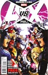 Avengers vs X-Men #1 Cover M 5th Ptg Jim Cheung Variant Cover