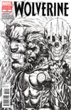 Wolverine Vol 4 #310 Incentive Stephen Platt Sketch Cover