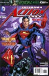 Action Comics Vol 2 #13 Regular Bryan Hitch Cover